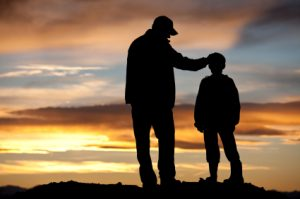 dad-and-son-sunset